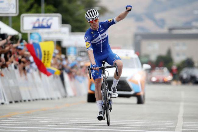Vittoria in solitaria con ampio margine di vantaggio per Rémi Cavagna nella Faun-Ardèche Classic (Getty Images)
