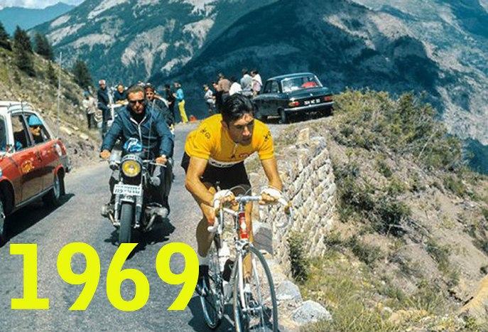 Merckx in fuga verso Mourenx (foto ASO)