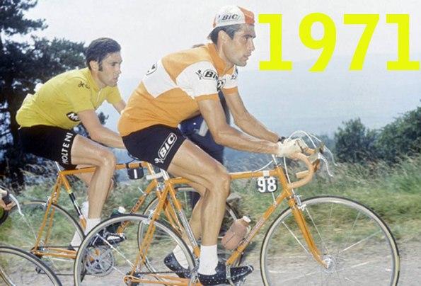 Merckx e Ocaña al Tour del 1971