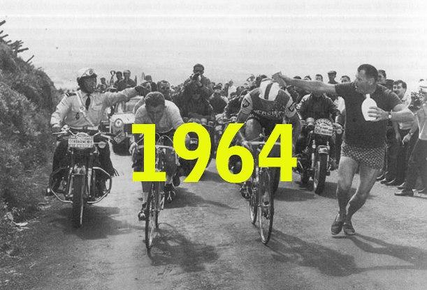 Lultimo duello tra Anquetil e Poulidor sulla salita del Puy de Dôme