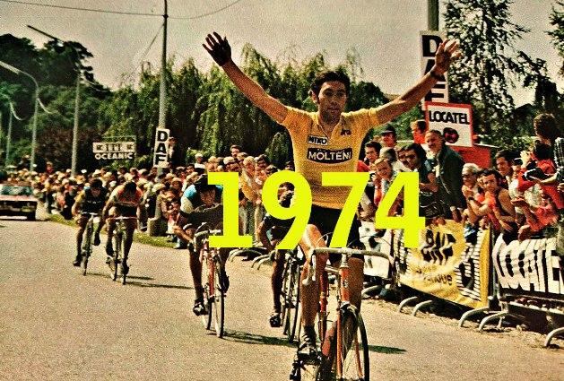 La vittoria di Merckx a Gaillard (Miroir Sprint)