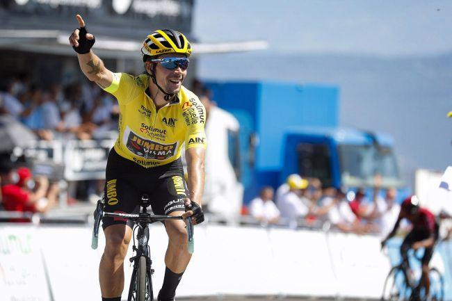 Primož Roglič vince anche la tappa regina del Tour de lAin e si impone nella classifica delle breve corsa francese (foto Bettini)