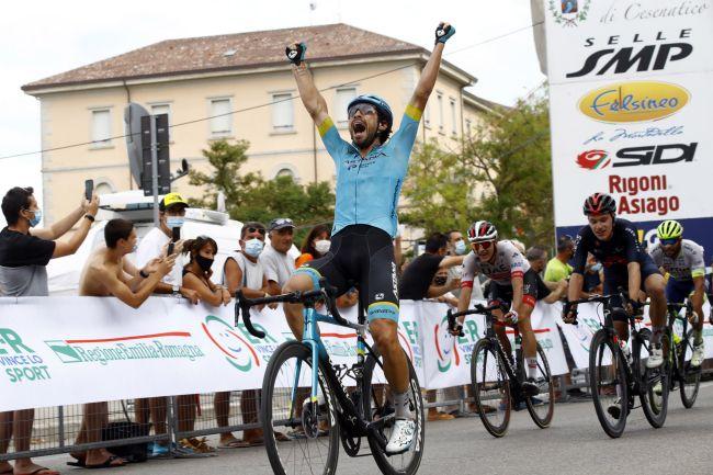 Fabio Felline torna alla vittoria nella corsa dedicata allìndimenticato scalatore romagnolo (foto Bettini)