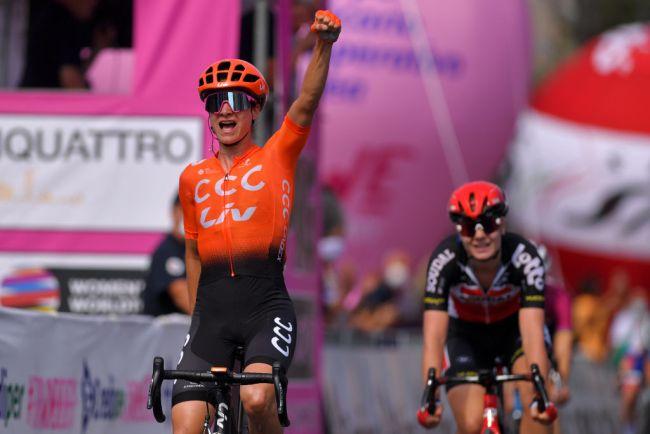 La vittoria della Vos nella quinta tappa del Giro dItalia Femminile (Getty Images Sport)