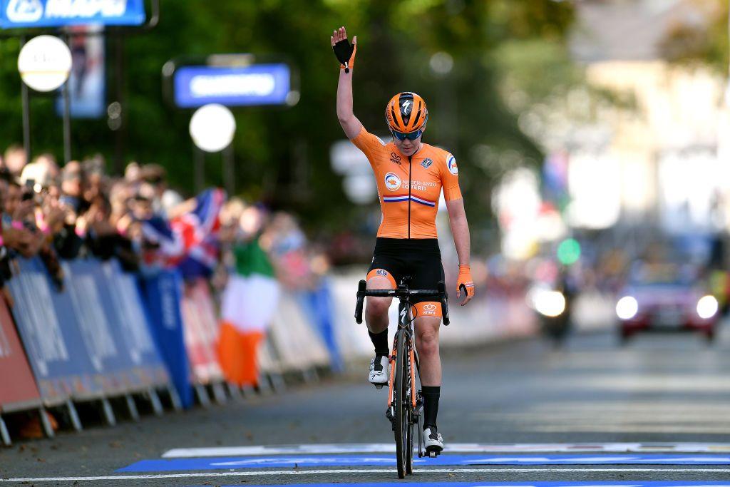 Anna Van der Breggen: bis Mondiale (foto:Getty Images)