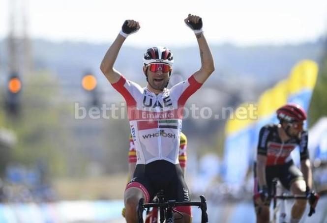 La vittoria di Ulissi nella decisiva quarta frazione (foto Bettini)